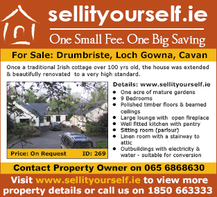 8 x 8 Colour Property Ad