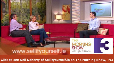 Sellityourself.ie on The Morning Show, TV3